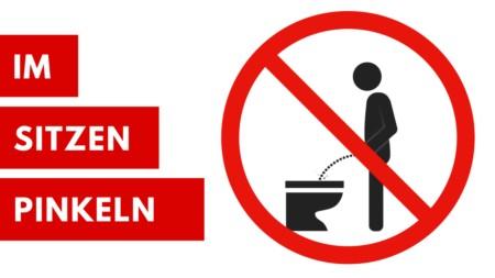 Bitte im Sitzen pinkeln - Kampf der Geschlechter