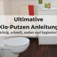 Ultimative Klo-Putzen Anleitung: richtig, schnell, sauber und hygienisch