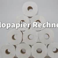 Klopapier Rechner: Wie lange reicht mein Vorrat an Toilettenpapier?